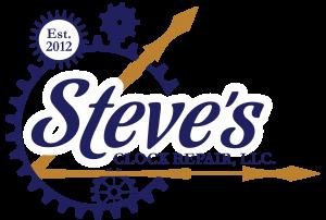 Steves Clock Repair V3 Blue and Gold